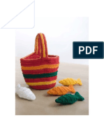 Crochet Counting Fish Toy