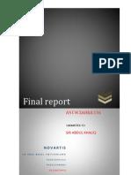 Report on Novartis