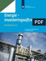 Energie Investeringsaftrek EIA Energielijst 2013