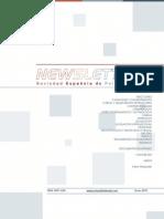 Newsletter Sociedad Española de Psiquiatría Legal, Enero 2013
