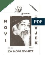 Osho Glasnik Br. 12, Dec 1992 - Nacija