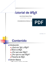 Tutorial de LATEX