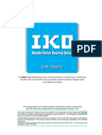 CAT5502 (IKO Needle Roller Bearing Series)