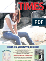 Tahan Times Journal- Vol 1-No. 18, March, 2012