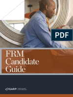 FRM Candidate Guide 2013