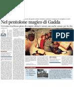 Pietro Citati Su Carlo Emilio Gadda - Corriere Della Sera 31.12.2012