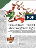 Guido Ceronetti Sugli Inglesismi Nella Lingua Italiana - La Stampa 31.12.2012