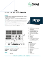 Strand Lighting Lbx Datasheet