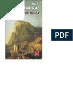 Amin Maalouf - Le Rocher de Tanios