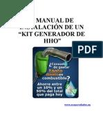 manual instalacion kit hho