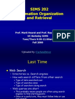Information Organization - How Search Engines Work