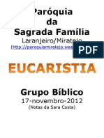 Grupo Bíblico_17nov12_Eucaristia