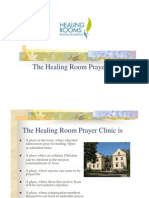 The Healing Room Prayer Clinics