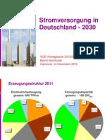 Stromerzeugung 2030Vortrag FH