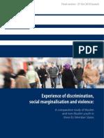 Experience of discrimination, social marginalisation and violence