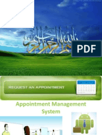 Appointment Management System