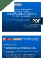 Mecanismos Legales y Tecnicos Minsa Junio 2010