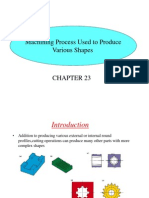Milling operations and types of milling