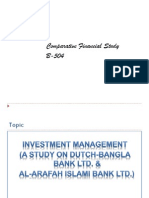 "A Comprehensive Review on investment management of Al-Arafah Islami Bank Limited & Dutch-Bangla Bank Limited""."