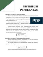 DISTRIBUSI PENDEKATAN-1