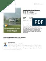 Autodesk Revit Architecture 2012 Grundlagen