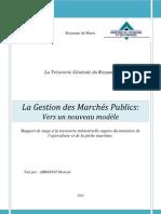 La Gestion des Marchés Publics