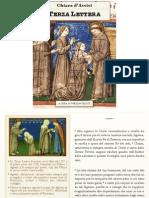 Terza Lettera, Chiara di Assisi