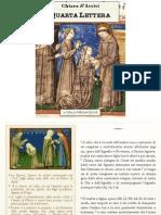 Quarta Lettera, Chiara di Assisi