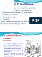 Gas turbine power plant