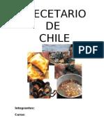 Recetas comida Chilena