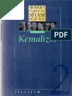 Modern Turkiye'de Siyasi Dusunce Cilt 2 -Kemalizm