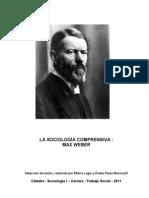 Cuadernillo Max Weber