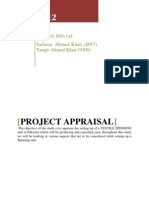 Project Appraisal