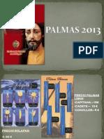 CATÁLOGO PALMAS 2013