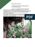 PANASONIC SA-PT470. SINTOMA DE LA AVERIA:NO ENCIENDE