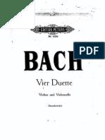 Bach - Duo de Violin y Violoncello (Stutschewsky Edition)