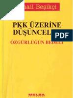 PKK Üzerine Düşünceler - İsmail Beşikçi