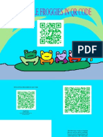 5 Little Froggies in QR Code