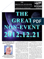 The X Chronicles Newspaper - December 2012 Edition