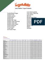 Swizzels Matlow Vegan Products
