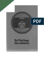 De l'Heritage Des Cathares