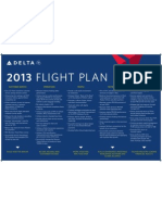 Delta's 2013 Flight Plan