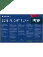 Delta's 2013 Flight Plan