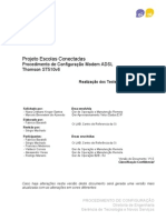 Procedimento Configuracao Modems ADSL_ST_510