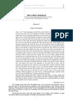 The Lord's Sermon concerning John The Apostle's Testimony (John1:1-27)
