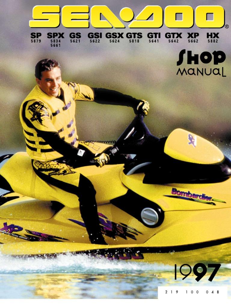 1996 seadoo spx repair manual free owners manual u2022 rh wordworksbysea com 1995 Seadoo XP 98 Seadoo XP