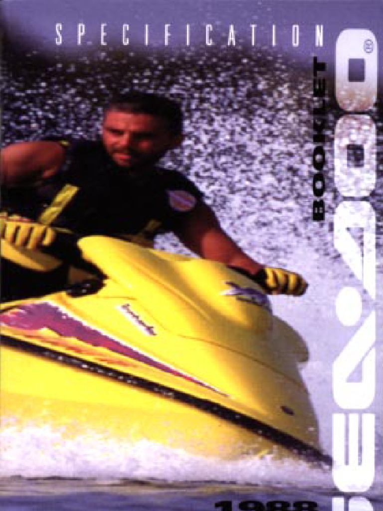 1988-1996 SeaDoo Specs | Ignition System | Cylinder (Engine)