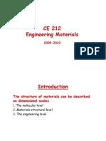 Construction Materials in civil engineering