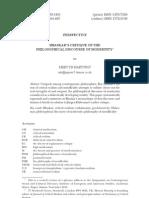 Hartwig, Bhaskar Critique of PDM_pubd