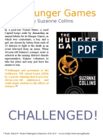Banned Books - Hunger Games
